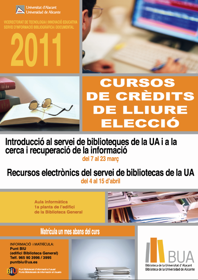 Courses of the BUA of credits of free election 2011