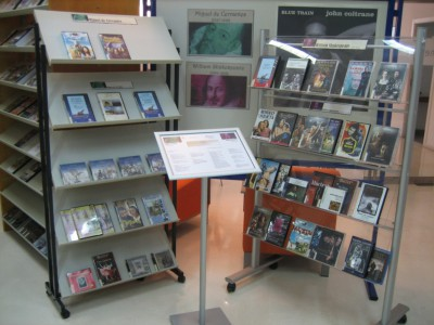 Cervantes and Shakespeare in Media library