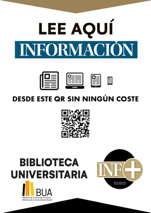 access with qr code to the newspaper Información