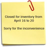 closed for works on February 20